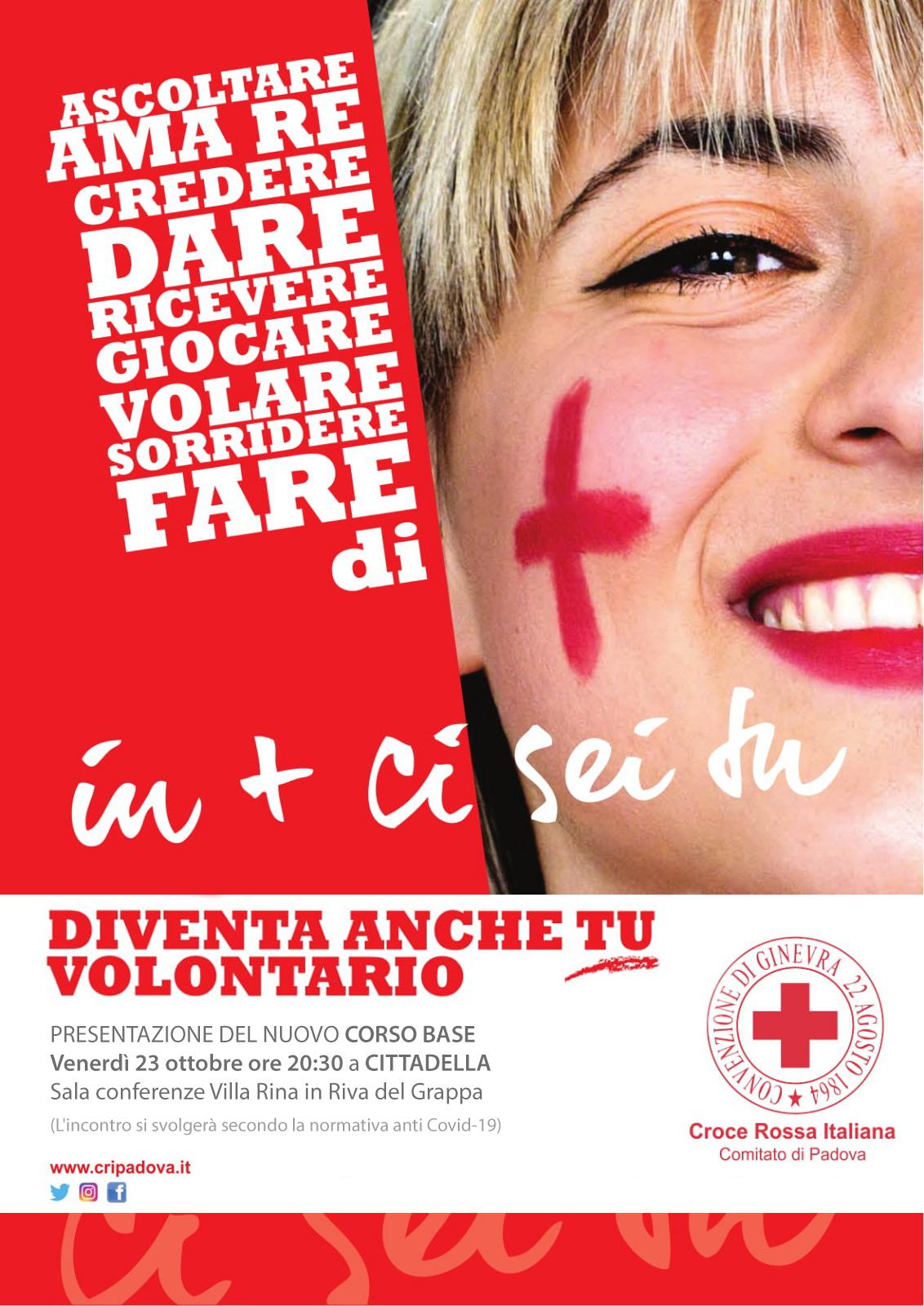 Corso volontari Croce Rossa Italiana