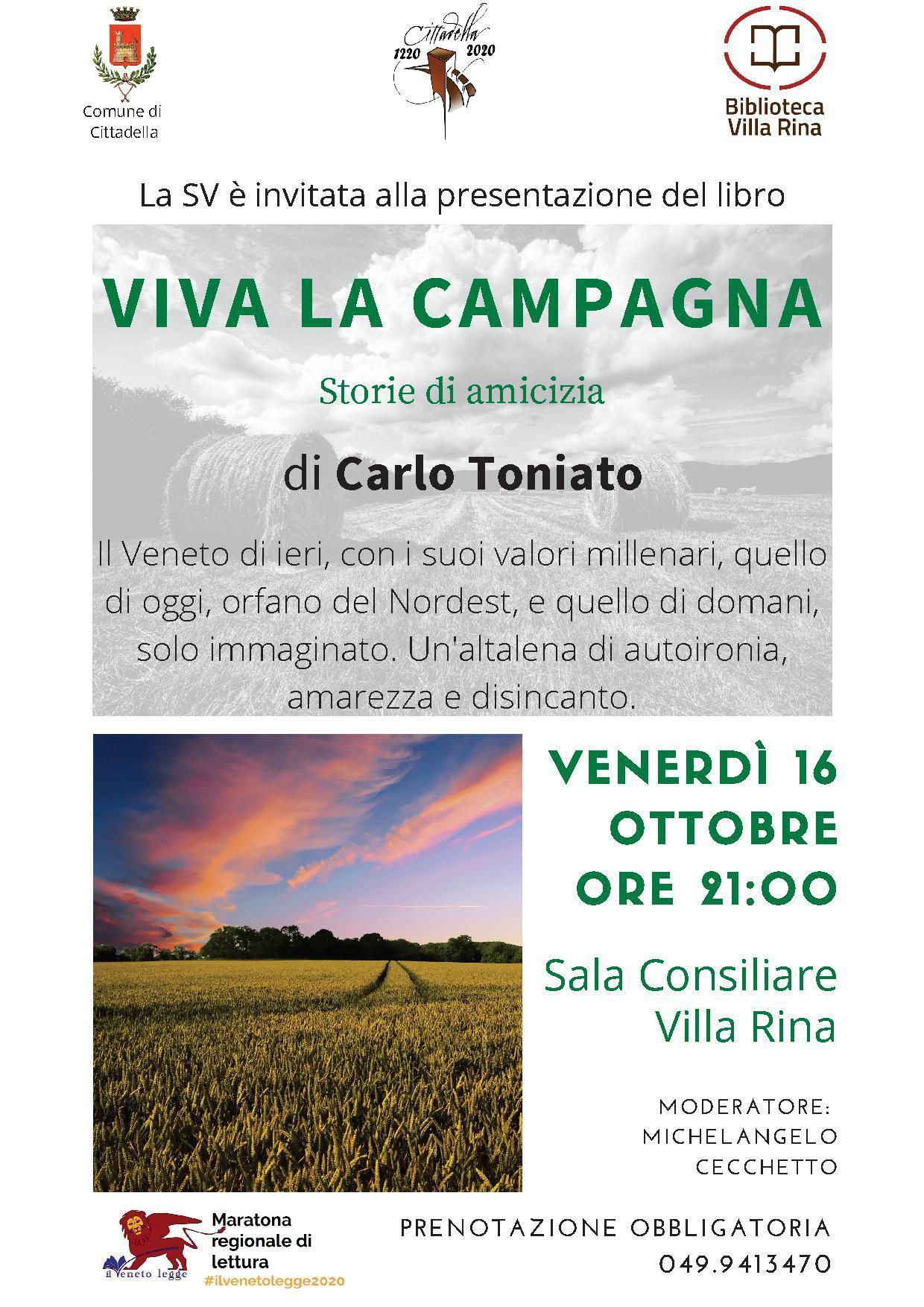 """""""Viva la campagna"""" di Carlo Toniato"""