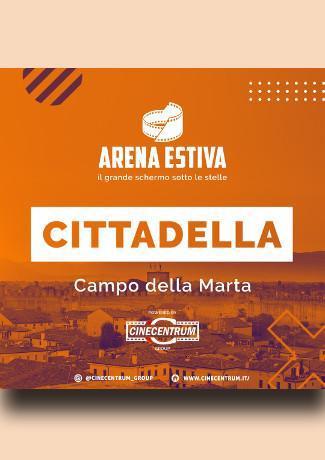 Arena estiva a Cittadlla