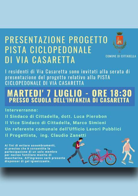 Ciclo perdonabile via Casaretta