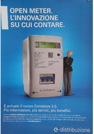 Sostituzione contatori energia elettrica