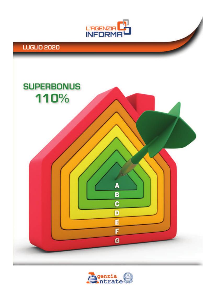 Guida sul Super bonus 110%