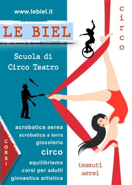Scuola di Circo Teatro e tessuti aerei