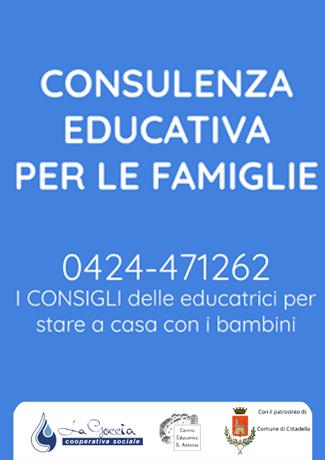 Servizio di consulenza educativa per le famiglie