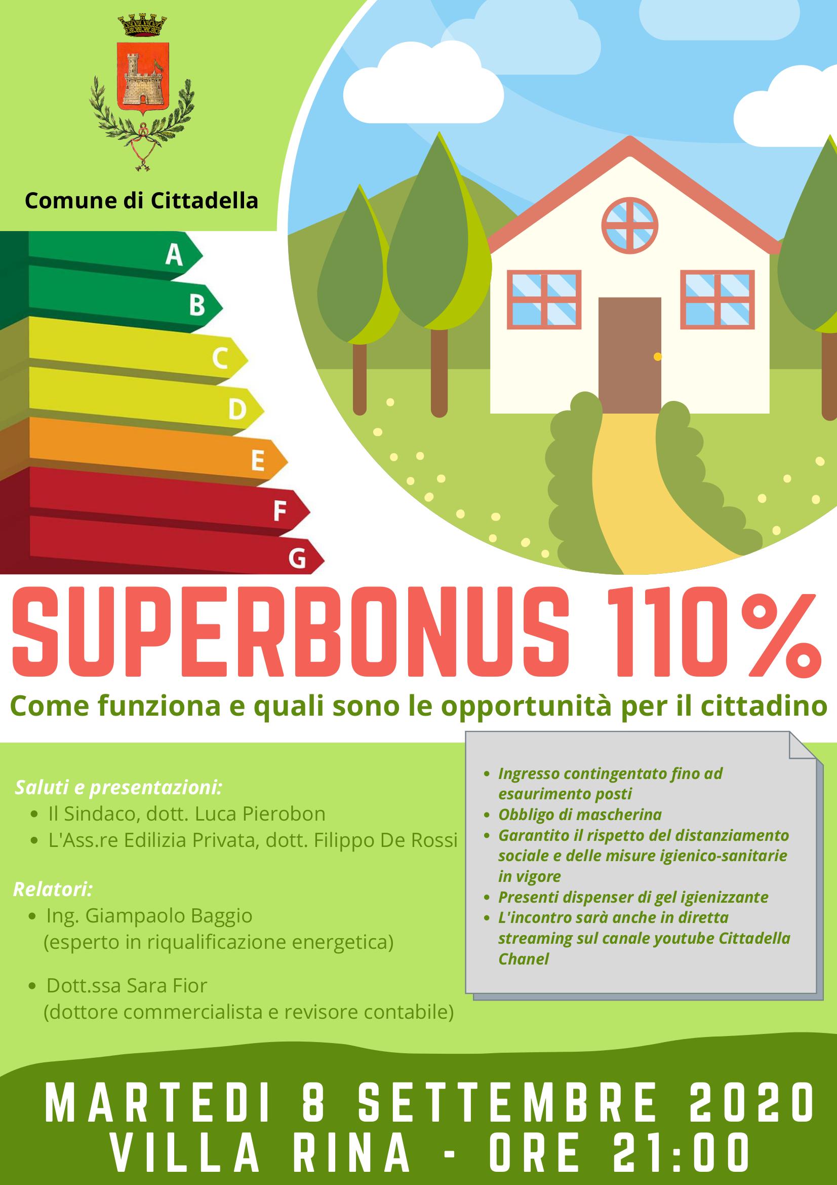 Incontro Super Bonus 110%