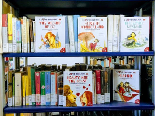 Collana di libri in inglese